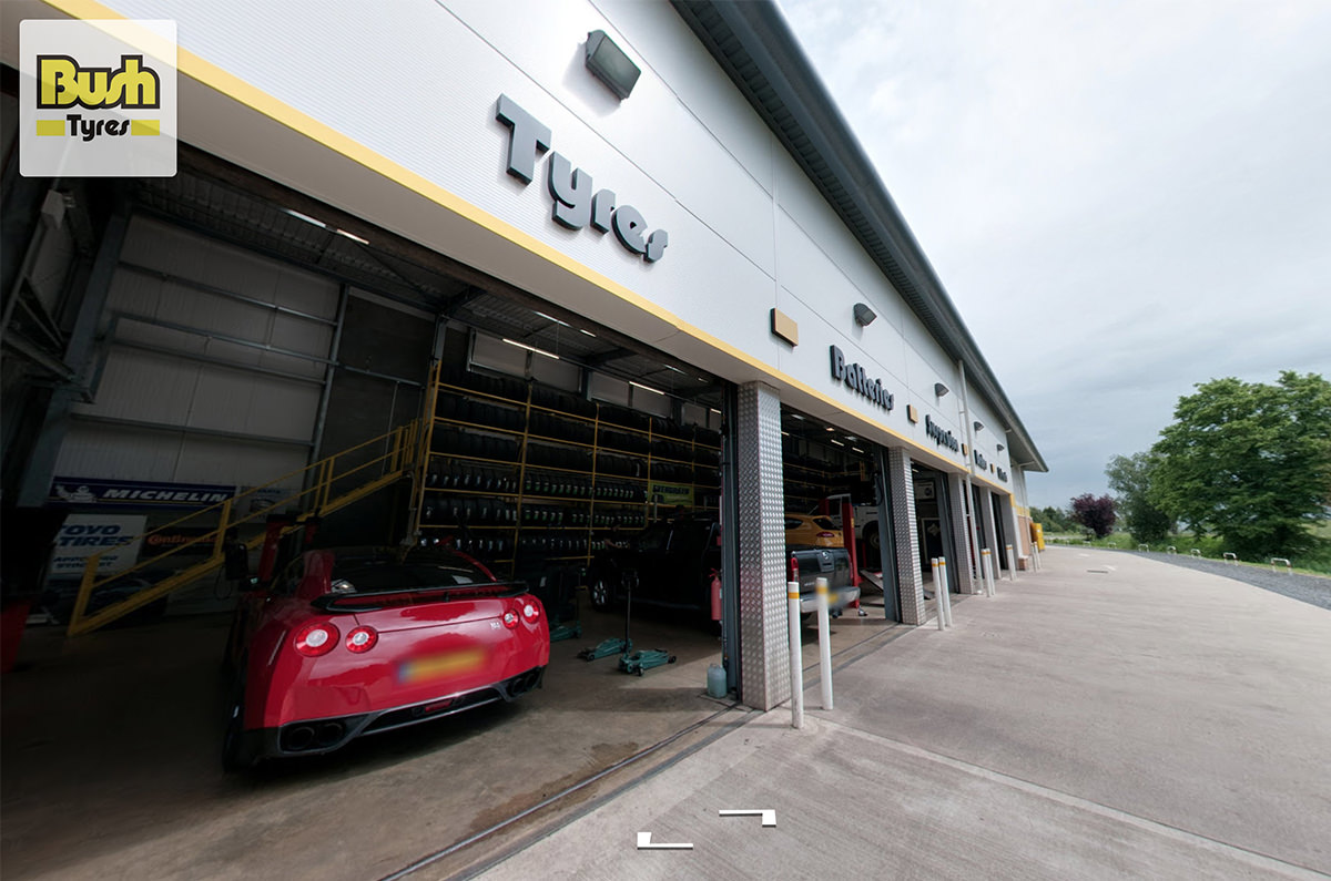 Bush Tyres Virtual Tour - Spalding