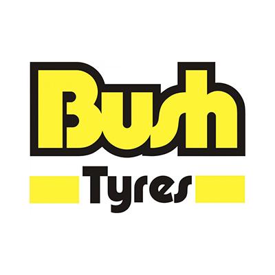 Bush tyres logo 400 x 400